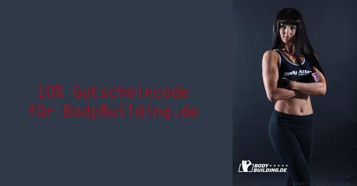 10% Gutscheincode für BodyBuilding