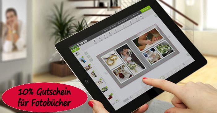 10% Fotobuch Gutschein für MeinFoto
