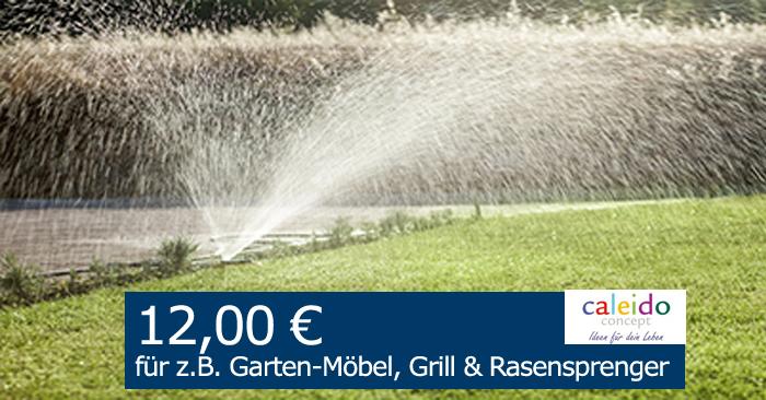 12,00 Euro Gutschein für den Garten