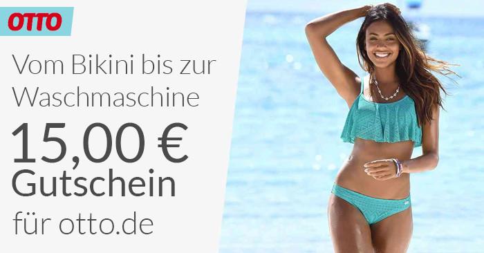 15,00 Euro OTTO Gutschein