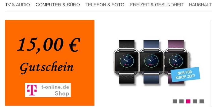 15,00 Euro T-Online Gutschein