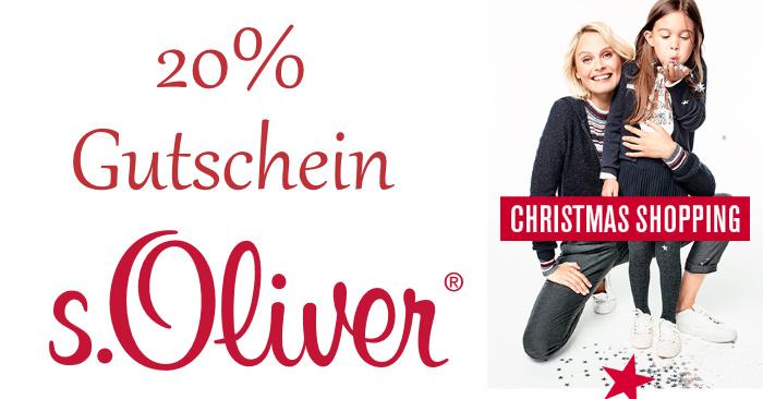 20% S.Oliver Gutscheincode