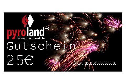 25 Euro Pyroland Gutschein