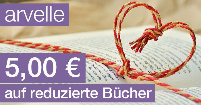 5,00 Euro Arvelle Gutscheincode für Bücher