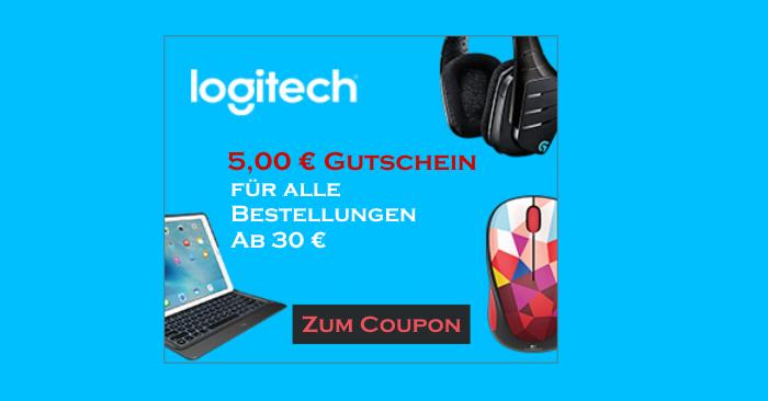5,00 Euro Logitech Gutscheincode