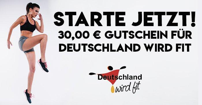 30 Euro Deutschland wir fit Gutschein Fitness