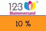 123Blumenversand 10 Prozent Gutscheincode