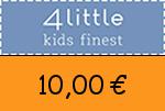 4little 10,00 Euro Gutscheincode