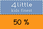 4little 50 % Gutschein