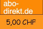 Abo-direkt.ch 5,00 CHF Gutscheincode