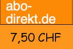 Abo-direkt.ch 7,50 CHF Gutscheincode