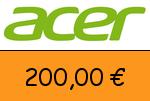 Acer 200,00 Euro Gutscheincode