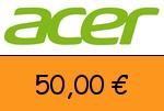 Acer 50,00 € Gutscheincode