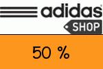 Adidas 50 % Gutschein