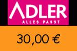 Adlermode 30,00€ Gutscheincode