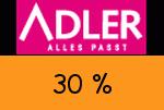 Adlermode 30% Gutscheincode