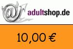 Adultshop 10,00 Euro Gutschein