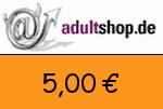 Adultshop 5,00€ Gutschein