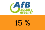 AfB 15 % Gutscheincode