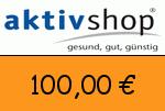 Aktivshop 100 Euro Gutschein