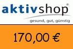 Aktivshop 170,00 Euro Gutschein