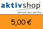 Aktivshop 5,00€ Gutscheincode