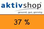 Aktivshop 37 Prozent Gutschein