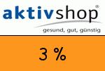 Aktivshop 3 Prozent Gutscheincode
