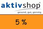 Aktivshop 5 Prozent Gutscheincode