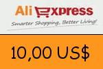 AliExpress 10,00 US Dollar Gutscheincode