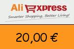 AliExpress 20 € Gutscheincode