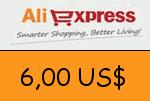 AliExpress 6,00 US Dollar Gutscheincode