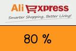 AliExpress 80 Prozent Gutschein