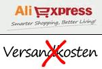 Versandkostenfrei bei AliExpress