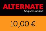 Alternate 10,00 Euro Gutscheincode