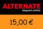 Alternate 15 Euro Gutscheincode