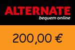 Alternate 200,00 Euro Gutschein