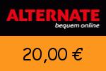 Alternate 20 € Gutscheincode