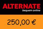 Alternate 250,00 Euro Gutscheincode