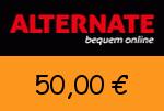 Alternate 50,00 € Gutscheincode