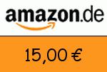 Amazon 15 Euro Gutscheincode