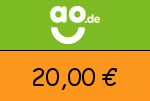 ao 20 € Gutscheincode