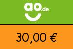 ao 30,00€ Gutscheincode