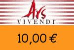 Ars_Vivendi 10,00 Euro Gutscheincode