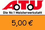 ATU 5,00€ Gutschein