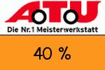 ATU 40 Prozent Gutschein