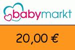 babymarkt 20 € Gutscheincode