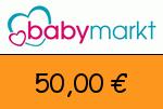 babymarkt 50,00 € Gutscheincode