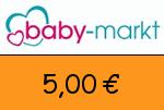 babymarkt.ch 5,00€ Gutschein