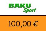 Baku-Sport 100 Euro Gutschein
